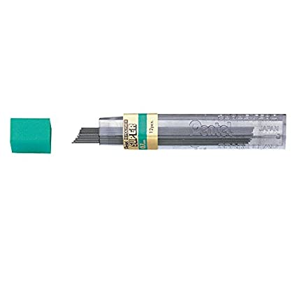 Pentel Super Hi-polymer Lead Refills, 12 Leads Per Tube, 4h Grade, 0.7mm Point Size, 144 Pieces Of Lead 12 - 50-4H
