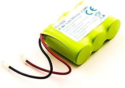 Batería para teléfono inalámbrico Universal, Panasonic, Sanyo, Sony, NiMH, 3,6 V, 600 mAh