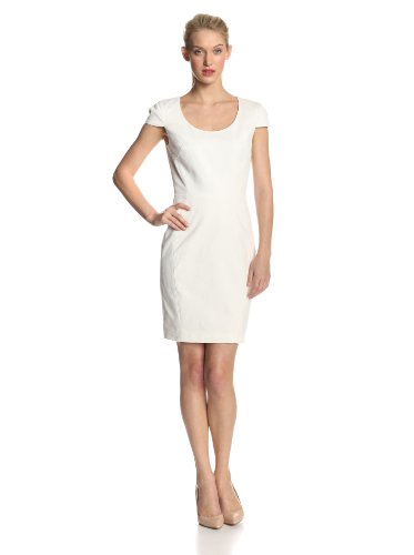 DKNYC Women's Cap Sleeve Dress