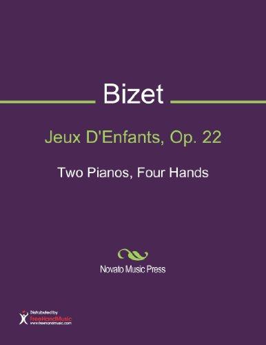 Jeux D'Enfants, Op. 22 Sheet Music (Two Pianos, Four Hands)