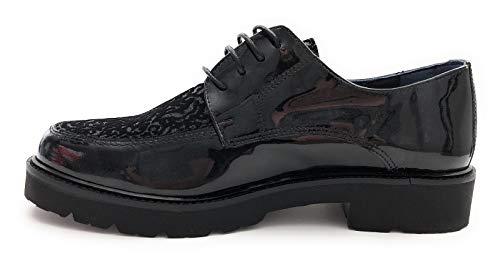 Noir Semelle De Noir Ville glfl Femme Amovible Chaussures Derbies Non 6937 Dorking PqpSwUp