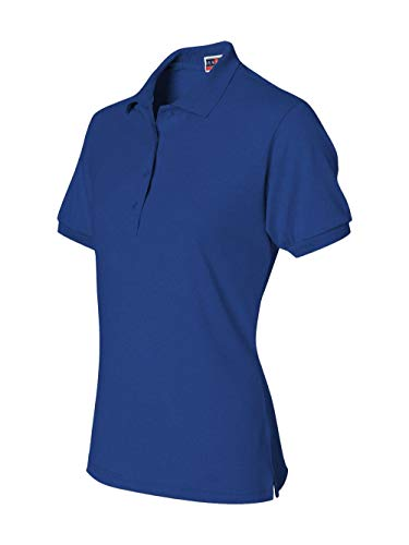 Jerzees Ladies' Jersey Polo with SpotShield - Royal - 2XL