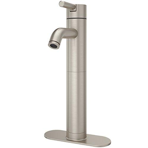 Pfister LG40NK00 Contempra Single Control Vessel Bathroom Faucet in Brushed Nickel