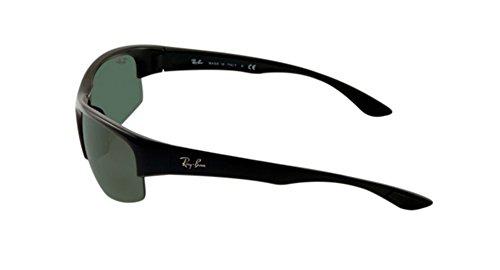 6292344ec81 Ray-Ban RB4173 - 601 71 Sunglasses Black w  Green Classic Lens 62mm ...