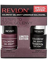 Revlon ColorStay Gel Envy Nail Enamel & Top Coat Value Pack, 720 Hold 'Em