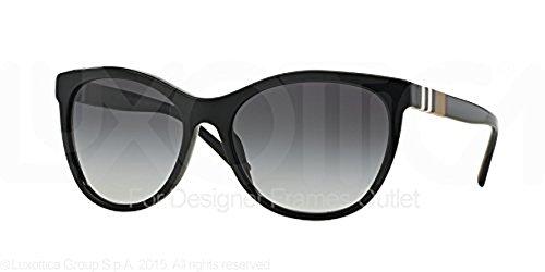 Burberry Men's BE4201 Sunglasses & Cleaning Kit Bundle