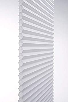 TDBU 21 W Crystal Light Filtering Cellular Shade Linen Avenue Custom Cordless Top Down Bottom 42 to 48 H Up