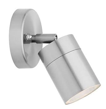Adjustable Outdoor Wall Light Stainless Steel IP44 35w (ZLC010) Zenon Lighting Collection  sc 1 st  Amazon UK & Adjustable Outdoor Wall Light Stainless Steel IP44 35w (ZLC010 ... azcodes.com