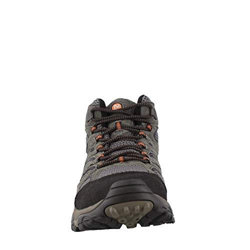 Merrell Men's, Moab 2 Mid Waterproof Hiking Boots - Wide Width Beluga 8 W