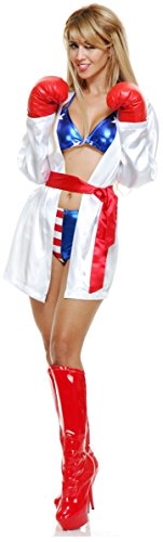 [Total Knockout Costume - Medium - Dress Size 8-10] (Knock Out Costumes)