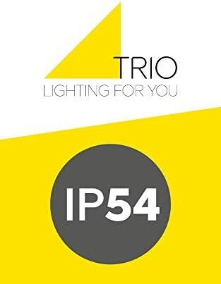 Trio Leuchten LED Pfostenleuchte 422060142 Shannon, Aluminium anthrazit, Kunststoff weiß, 7 Watt LED