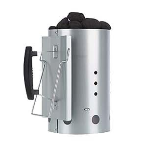 Bruzzzler 1157 - encendedor de chimenea y barbacoa con mango de seguridad, 25,5 x 14,5 x 26,7 cm