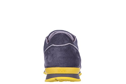 Tods Hombres Shoes Suede Trainers Sneakers Active Sportivo Ym Grey