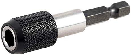 Sumtm Tige hexagonale /à d/égagement Rapide Vis de vissage magn/étique Porte-Embout 1//4 60 mm