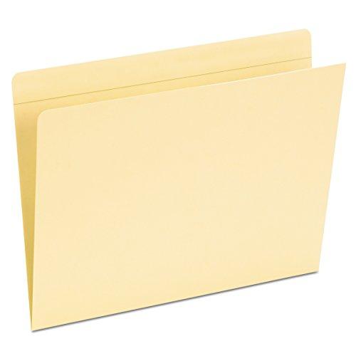 File Tab Edge (Pendaflex Pocket Folders, Straight Cut, Top Tab, Letter, Manila, 50 Per Box,(16651))