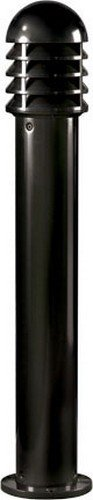 Dabmar Lighting D3400-B Powder Coated Cast Aluminum Bollard, Black by Dabmar Lighting (Image #1)