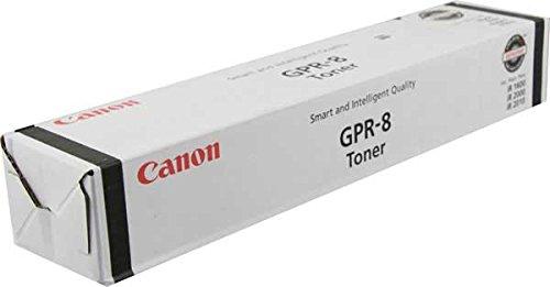 Genuine OEM brand name CANON GPR-8 Toner for IR1600/ 2000/2010F (7.85K Yield) 6836A003 (Canon 8 Toner Gpr)