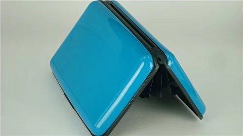 RICISUNG Blocage de RFID de support de carte de crédit en aluminium de portefeuille
