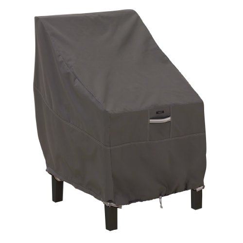Classic Accessories Ravenna High Back Patio Chair Cover – Premium Outdoor Furniture Cover with Durable and Water Resistant Fabric (55-144-015101-EC)