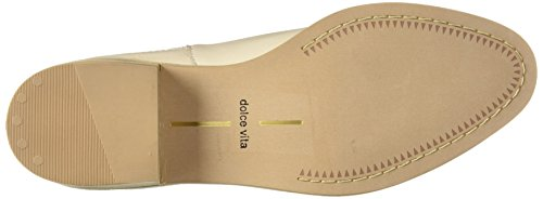 Dolce Women's Vita Boot Ankle Leather Towne Ivory p61w7TW1q