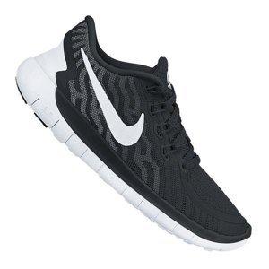 Nike Free 5.0 Running Schwarz Weiss F002 Größe 47: