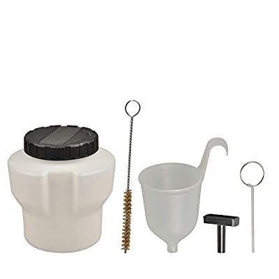 VonHaus 5pc Paint Sprayer Accessory Kit with 35 fl. Oz Paint Container and Cleaning Tools Compatible with VonHaus Paint Sprayers 15/393US & 15/394US