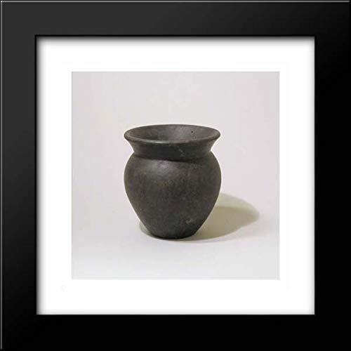 Etruscan Culture - 15x15 Framed Museum Art Print- Focolare Bowl ()