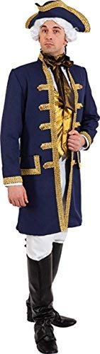 Seaman Costumes - Mens Lord Admiral Nelson Royal Navy