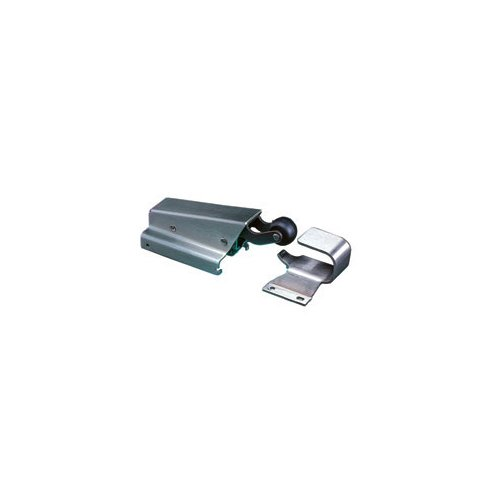 Stainless Steel Spring Action Door Closer with 1-1/8'' Offset