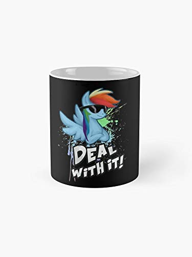 My Little Pony Rainbow Dash Deal With It