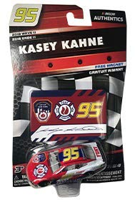 NASCAR Authentics Kasey Kahne #95 Diecast Car 1/64 Scale - 2018 Wave 11 - with Die Cut Magnet - Collectible (Kasey Kahne Diecast 2018)