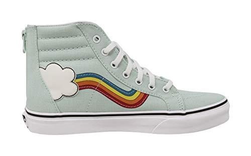 Vans Blue Rainbow Sidestripe Pantalones Hombre Para White fxqwfXrB