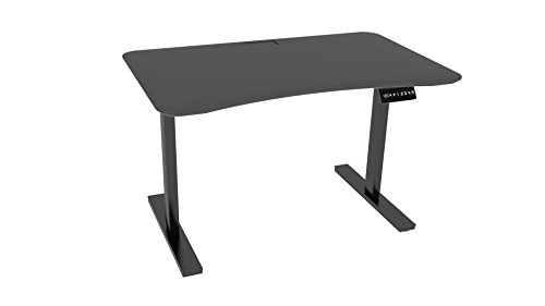 Ergo Elements Adjustable Height Standing Desk with Electric Push Button, 4' by 30