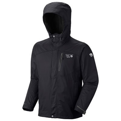 Mountain Hardwear Ampato Jacket, Black / Black, Small
