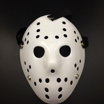 [Fashion Cosplay for Halloween Masquerade Carnival Party Prom Carnival Mask (Killer White)] (New Blood Jason Costume)
