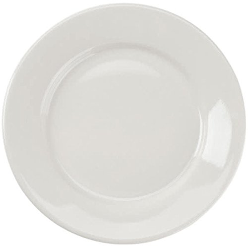 Yanco Re 21 Recovery Plate  12  Diameter  China  American White Color  Pack Of 12