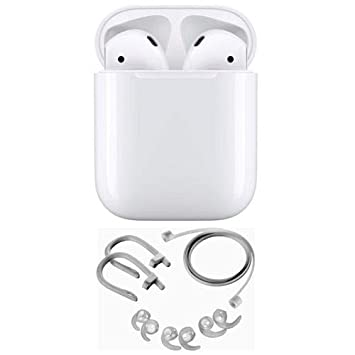 Amazon.com: Airpods de Apple con funda de carga, 2ª ...