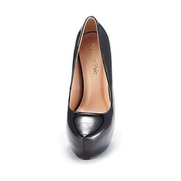 High Heel Plaform Dress Pump Shoes