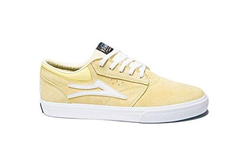 Lakai Men's Griffin Skateboarding Shoe, Dusty Yellow Suede, 12 M US