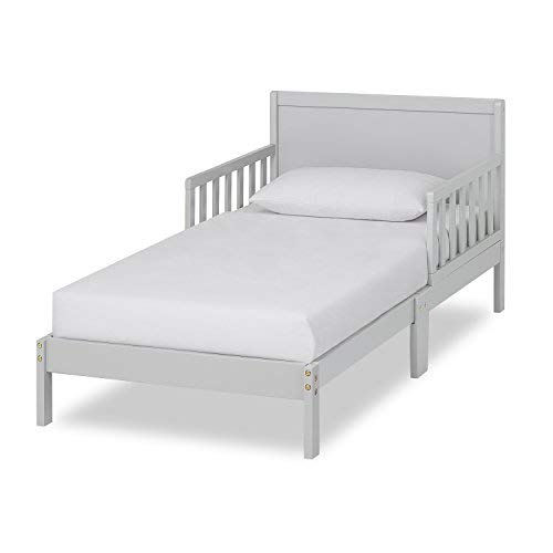 Dream On Me Brookside Toddler Bed, Pebble Grey (Tool Barn Pottery Room Design)