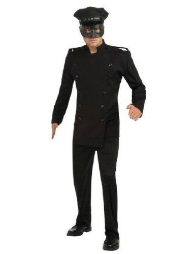 Green Hornet Deluxe Kato Costume, Black, Standard ()