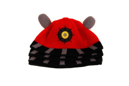 Dalek Hat (Morris Costumes Doctor Who Dalek Beanie Red)