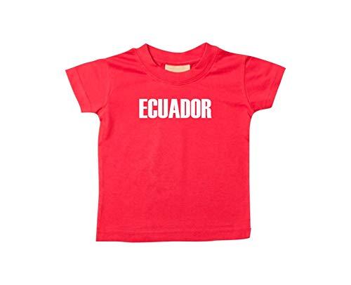 Shirtstown Bebé Niños Camiseta Fútbol Camiseta de País Ecuador: Amazon.es: Ropa y accesorios