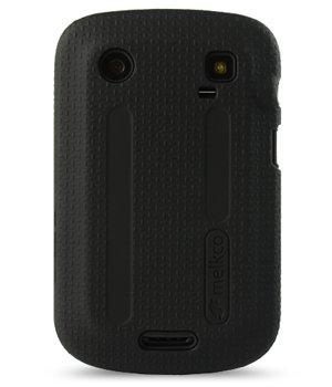 Melkco - Blackberry Bold Touch 9900 / Dakota / Magnum / Bold Touch 9930 / Montana Double Layer Case Kubalt Type Black / Black