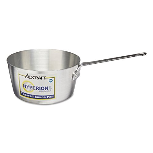 Adcraft H3-TSP5 5 qt Aluminum Tapered Sauce Pan with Securel