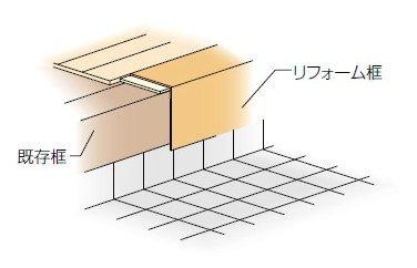 LIXIL 床造作材 リフォーム框 12mm、6mm床材兼用 1本入り リフォーム床造作材