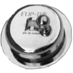 PPP Mfg. Flip-it Fit All Bathtub Drain - Fit All Tub Stopper