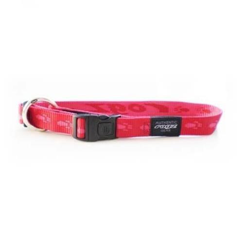Rogz Alpinist Matterhorn Red Dog collar - Medium