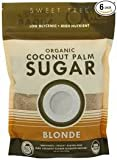 Sweet Tree: Blonde Organic Coconut Palm Sugar 16 Oz (6 Pack) by Sweet Tree