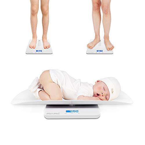 Baby Scale, Multi-Function Toddler Scale, Baby Scale Digital, Pet Scale, Infant Scale with Hold Function, Blue Backlight…